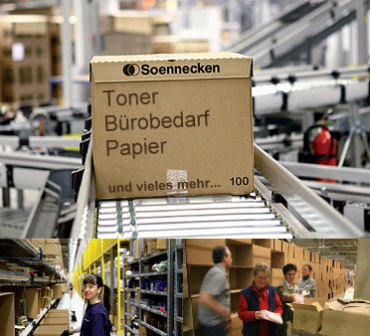Bürobedarf Frankfurt Start Versand