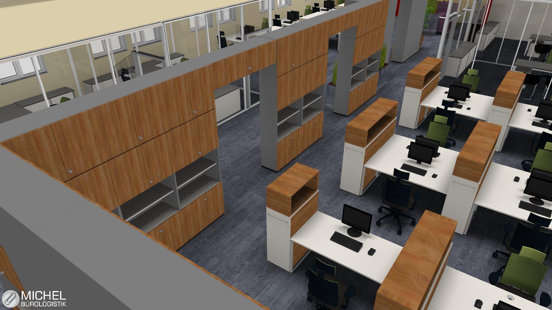 Büroeinrichtung planen  3D Büroplanung Frankfurt - Professionell und Schnell und Kompetent