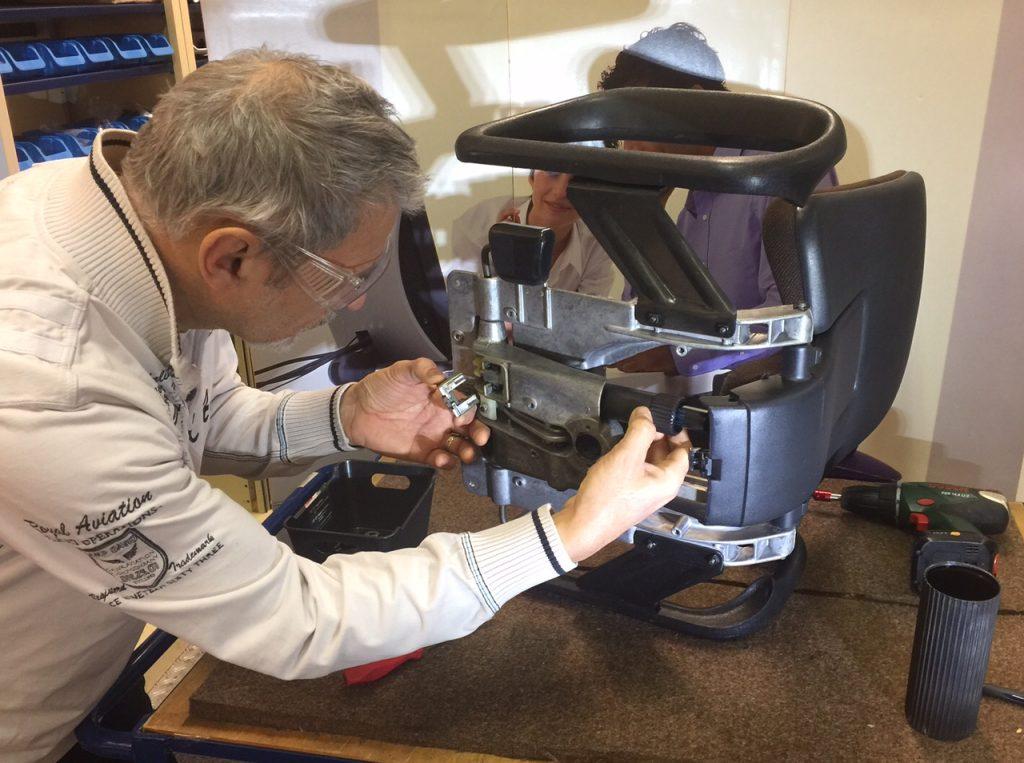 Sehr Ersatzteile und Reparatur von Bürostühle und Bürostuhl swopper IC59