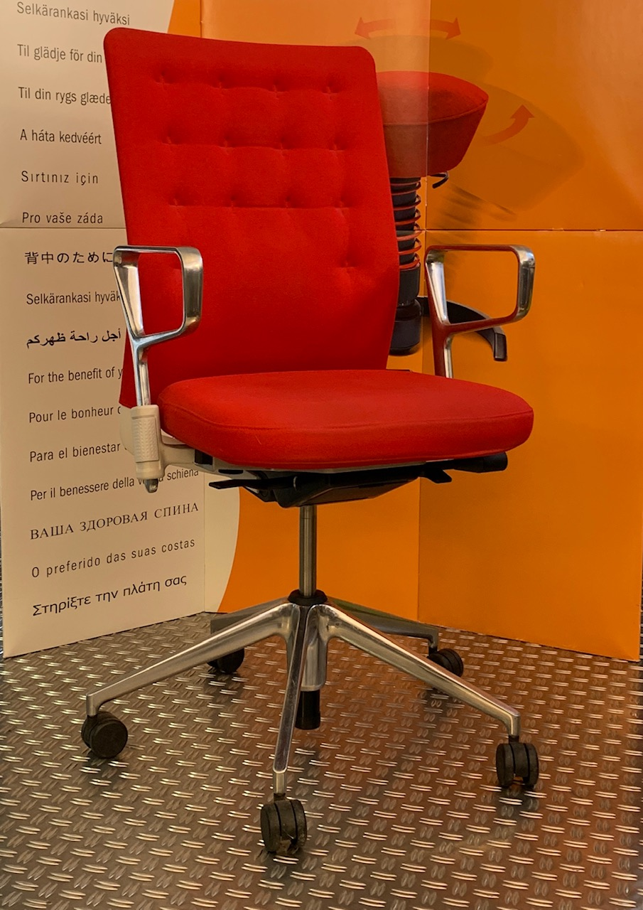 Vitra Id Rot Bürostuhl 2 Bürobedarf Frankfurt Ihr Starker
